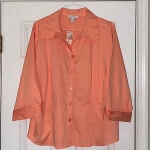 NWT Dressbarn button shirt